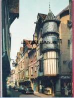 10 - TROYES---Tour De L'Orfevre---citroen DS Noire - Voitures De Tourisme