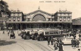 CP 75 Paris Gare De L'Est 4293 ELD - Stations, Underground