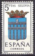 España. Spain. 1965. Segovia. Escudos Coat Of Arms Wappen Armoiries - 1931-Heute: 2. Rep. - ... Juan Carlos I