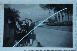 Photo GAASBEEK Lennik Vlezenbeek TRAM Vicinal 1943 Tramway Wagon SNCV - Orte
