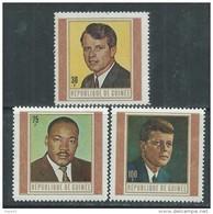 Guinée  N° 370 / 72 XX Martyrs De La Liberté, Les 3 Valeurs Sans Charnière TB - Guinea (1958-...)