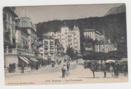 AB590 - SUISSE - BRUNNEN - Quai Promenade - Grand Hotel - SZ Schwyz