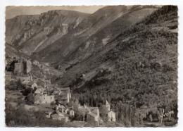 PRADES--1949-- Gorges Du Tarn--Vue Générale Du Village-timbre-- Cachet.........à Saisir - Other Municipalities