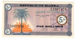 BIAFRA5SHILLINGS1967P1UNC.CV. - Nigeria