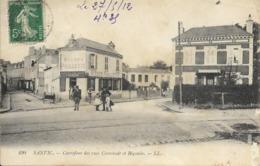 Cpa Sanvic, Carrefour Des Rues Cronstadt Et Bégouin - Autres