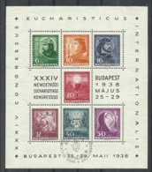 HUNGRIA  YVERT  H/B  2  MATASELLADO - Blocchi & Foglietti