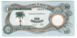 BIAFRA10SHILLINGS1968P4UNC.CV. - Nigeria
