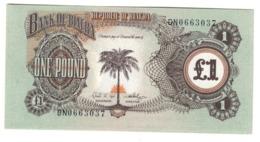 BIAFRA1POUND1968P5UNCWith S/N 5A.CV. - Nigeria