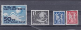 DDR Kleine Verzameling 1949 *, Zeer Mooi Lot Krt 4159 - Colecciones (sin álbumes)