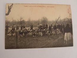 CPA Chasse à Courre En Forêt De Breteuil - Breteuil
