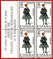 España. Spain. 1967. Badajoz. Trajes Regionales. Regional Costumes - 1931-Aujourd'hui: II. République - ....Juan Carlos I
