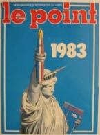 Calendrier  - Hebdomadaire Le Point - 1983 - Petit Format : 1981-90