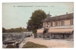 Joinville-le-Pont - Le Quai Du Barrage - édit. C.M. Malcuit 26 + Verso - Joinville Le Pont