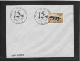 Thème Animaux - Lézard - Algérie - Enveloppe - Reptiles & Amphibians