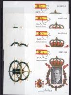 España 1998. Serie Basica Rey Procedente De Carnet. Prueba 64A / 64D. MNH. **. - Variedades & Curiosidades