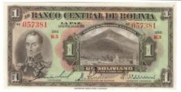 BOLIVIA1BOLIVIANO20/07/1928P118UNC.CV. - Bolivië