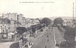 CPA - Maison Laffitte - Perspective De L'avenue Longueil - Maisons-Laffitte