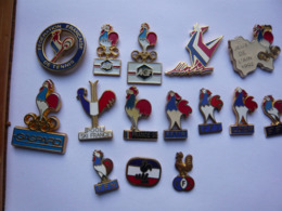 15 Pin S SPORT COQS Different - Tiere