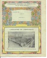 93 - Saint-Denis - Protège-Cahier - Manufacture Christofle - Orfévrerie - Buvards, Protège-cahiers Illustrés