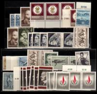 Österreich - Aus Mi. Nr: 1256 - 83 -  Postfrischer Jahrgang 1968 - 1945-.... 2. Republik