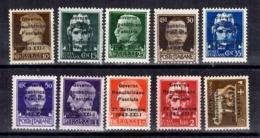 Italie/République Sociale émission Privée De Trente(Trento) 27/09/1943 Neufs ** MNH. Rare! TB. A Saisir! - Ungebraucht