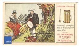 Chromo Instrument De Musique Tambourin Et Galoubet Provence Musicien Tambourinaire A30-13 - Cromo