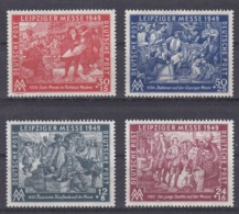 DDR Kleine Verzameling 1949 *, Zeer Mooi Lot Krt 4160 - Colecciones (sin álbumes)
