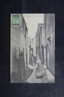 MAROC - Affranchissement De Tanger Sur Carte Postale ( Une Rue De La Ville ) Pour La France - L 44599 - Oficinas En  Marruecos / Tanger : (...-1958