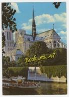 {76438} 75 Paris Notre Dame Et La Seine ; Bateau Mouche - Notre Dame De Paris