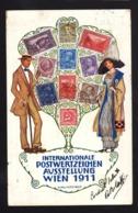 18212 - Vienna - Internationale Postwertzeichen Aussetellung Wien 1911 F_1 - Vienna
