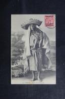 MAROC - Affranchissement De Tanger Sur Carte Postale ( Femme De La Montagne ) Pour La France En 1913 - L 44600 - Morocco Agencies / Tangier (...-1958)