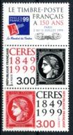 N° 3212A Cérès  150eme Anniversaire Du 1er Timbre Poste  Neuf ** - France