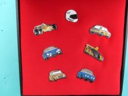 Coffret De 7 Pins RENAULT , Alpine , 4L , R8 , Renault 5 Turbo , F1 , F3 , Etc , ELF - Renault