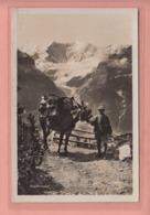 OUDE POSTKAART ZWITSERLAND - SCHWEIZ - SUISSE -   TRANSPORT - POST - FAULHORNPOST - 1937 - BE Berne