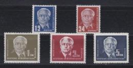 DDR Kleine Verzameling 1950 Nr 6/9a *, Zeer Mooi Lot Krt 4163 - Timbres