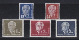 DDR Kleine Verzameling 1950 Nr 6/9a *, Zeer Mooi Lot Krt 4163 - Colecciones (sin álbumes)
