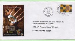 "PAP -  GUYANE MATOURY  ""5e MARRONNAGE & LANGAGES""  - 2006 - - Entiers Postaux"