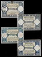 TURQUIE TURKEYCollection / Accumulation Of 28InternationalReply Coupon Reponse Antwortschein IAS IRC 1945-1998 - 1921-... République