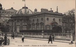 CP 75 Paris Palais De La Légion D'honneur 4134 ED - Other Monuments