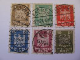 Deutsches Reich  355 - 360  O - Gebraucht