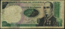 VENEZUELA - 20 Bolivares 20.10.1987 VG P.71 - Venezuela