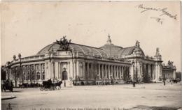 CP 75 Paris Palais Grand Le Des Champs-Elysées 12 CLC - Other Monuments