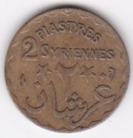 ETAT DU GRAND LIBAN. 2 PIASTRES SYRIENNES 1924 - Libanon