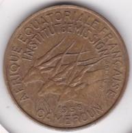 Cameroun, Afrique Equatoriale Française, 25 FRANCS 1958 - Kameroen