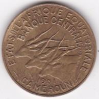Cameroun, Afrique Equatoriale Française, 10 FRANCS 1961 - Cameroun