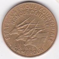 Cameroun, Afrique Equatoriale Française, 10 FRANCS 1965 - Cameroun