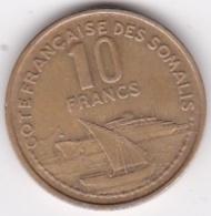 CÔTE FRANÇAISE DES SOMALIS DJIBOUTI 10 FRANCS 1965 - Djibouti