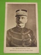 Le Généralissime FOCH. P. Houstraas - Cartes Postales
