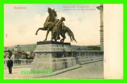 BUDAPEST, HONGRIE - CSKOS VOR DER KGL RETSCHUTE - ANIMATED - 3/4 BACK - TAUSSIG A. BPEST - - Hongrie