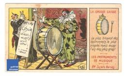 Chromo Instrument De Musique La Grosse Caisse Cirque Clown Costume Circus Timbale A30-18 - Cromo